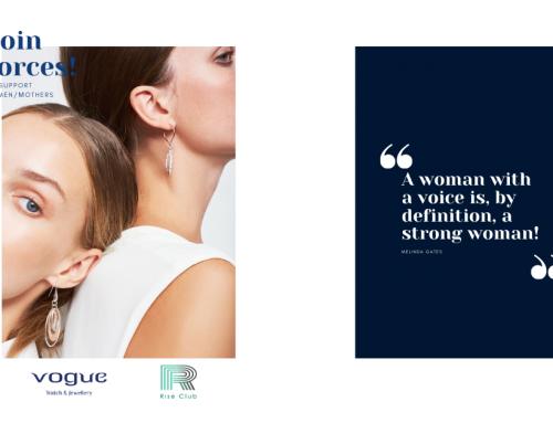 Δελτίο Τύπου: Η Vogue Watch & Jewellery συνεργάζεται με το Rise Club στηρίζοντας μητέρες για την επιστροφή τους στην αγορά εργασίας